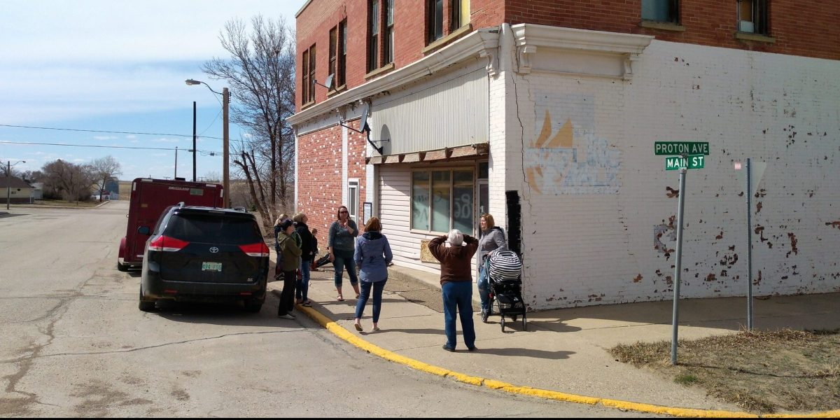 Economic Development Committee Tours Downtown Buildings